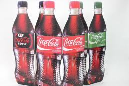 Diecut Coca Cola Standee
