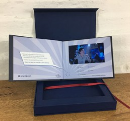 Video Book and Presentation Box for Disney